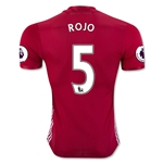 Manchester United 16/17 ROJO Authentic Home Soccer Jersey