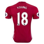 Manchester United 16/17 YOUNG Authentic Home Soccer Jersey