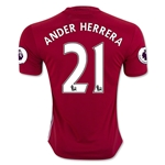 Manchester United 16/17 ANDER HERRERA Home Soccer Jersey