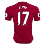 Manchester United 16/17 BLIND Home Soccer Jersey