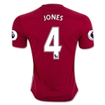 Manchester United 16/17 JONES Home Soccer Jersey