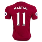 Manchester United 16/17 MARTIAL Home Soccer Jersey