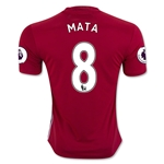 Manchester United 16/17 MATA Home Soccer Jersey