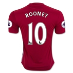 Manchester United 16/17 ROONEY Home Soccer Jersey