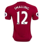 Manchester United 16/17 SMALLING Home Soccer Jersey
