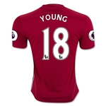 Manchester United 16/17 YOUNG Home Soccer Jersey