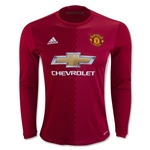 Manchester United 16/17 LS Home Soccer Jersey