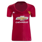 Manchester United 16/17 Women's Home Soccer Jersey