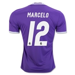 Real Madrid 16/17 MARCELO Away Soccer Jersey