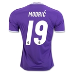 Real Madrid 16/17 MODRIC Away Soccer Jersey