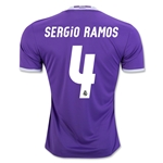 Real Madrid 16/17 SERGIO RAMOS Away Soccer Jersey