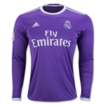 Real Madrid 16/17 LS Away Soccer Jersey