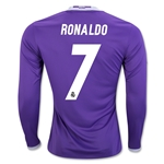 Real Madrid 16/17 RONALDO LS Away Soccer Jersey