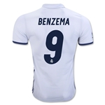 Real Madrid 16/17 BENZEMA Authentic Home Soccer Jersey