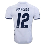 Real Madrid 16/17 MARCELO Authentic Home Soccer Jersey