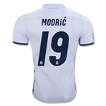 Real Madrid 16/17 MODRIC Authentic Home Soccer Jersey