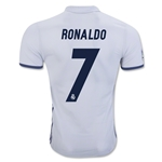 Real Madrid 16/17 RONALDO Authentic Home Soccer Jersey