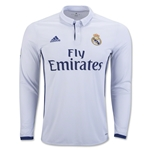 Real Madrid 16/17 LS Home Soccer Jersey