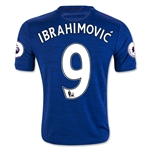 Manchester United 16/17 IBRAHIMOVIC Youth Away Soccer Jersey