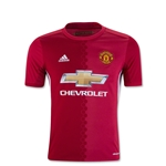 Manchester United 16/17 Youth Home Soccer Jersey
