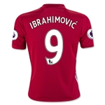 Manchester United 16/17 IBRAHIMOVIC Youth Home Soccer Jersey