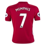 Manchester United 16/17 MEMPHIS Youth Home Soccer Jersey