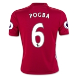Manchester United 16/17 POGBA Youth Home Soccer Jersey