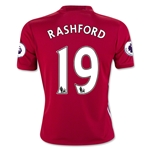 Manchester United 16/17 RASHFORD Youth Home Soccer Jersey