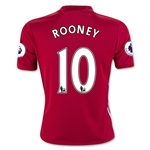 Manchester United 16/17 ROONEY Youth Home Soccer Jersey