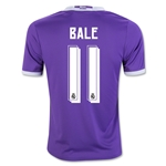 Real Madrid 16/17 BALE Youth Away Soccer Jersey