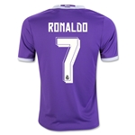 Real Madrid 16/17 RONALDO Youth Away Soccer Jersey