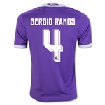 Real Madrid 16/17 SERGIO RAMOS Youth Away Soccer Jersey