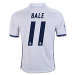Real Madrid 16/17 BALE Youth Home Soccer Jersey