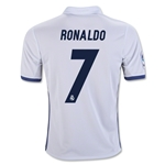Real Madrid 16/17 RONALDO Youth Home Soccer Jersey