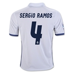 Real Madrid 16/17 SERGIO RAMOS Youth Home Soccer Jersey