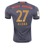 Bayern Munich 16/17 ALABA Away Soccer Jersey