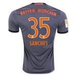 Bayern Munich 16/17 SANCHES Away Soccer Jersey