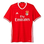 Benfica 16/17 Home Soccer Jersey