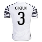 Juventus16/17 CHIELLINI Third Soccer Jersey