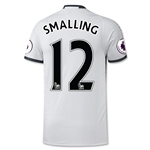 Manchester United 16/17 SMALLING Authentic Third Soccer Jersey
