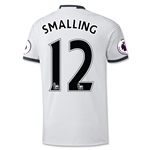 Manchester United 16/17 SMALLING Third Soccer Jersey