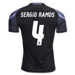 Real Madrid 16/17 SERGIO RAMOS Third Soccer Jersey