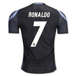 Real Madrid 16/17 RONALDO Authentic Third Soccer Jersey