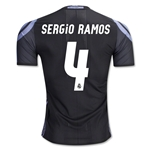 Real Madrid 16/17 SERGIO RAMOS Authentic Third Soccer Jersey