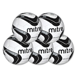 Mitre Vandis Ball 5 Pack (Black)