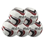 Mitre Vandis Ball 5 Pack (Red)