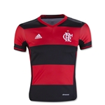 Flamengo 16/17 Youth Home Soccer Jersey