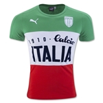 Italy Tri Color Calcio T-Shirt