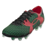 Under Armour Clutchfit Force 2.0 FG Mexico (Black/Red/Classic Green)