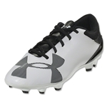 Under Armour Spotlight DL FG Junior (White/Black)